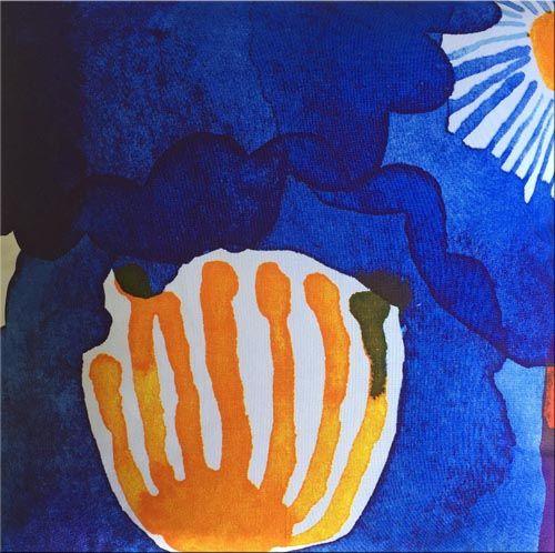 Marimekko 'Juhannastaika' cushion in multicolours 43x43cm