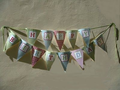 birthday banner printables!