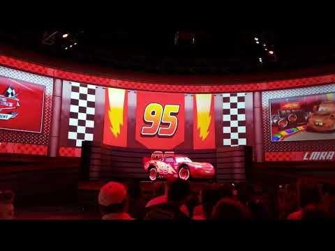 Disney S Lightning Mcqueen S Racing Academy Youtube Disney World Hollywood Studios Disney Rides Lightning Mcqueen