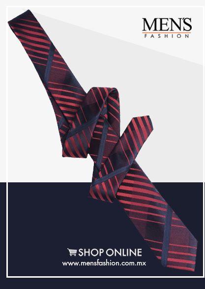 Las #Corbatas delgadas están de moda, aquellas enormes están desapareciendo poco a poco. Al mejor precio aquí: www.mensfashion.com.mx