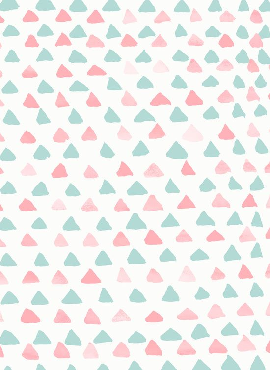 pastel triangles 2 | Georgiana Paraschiv