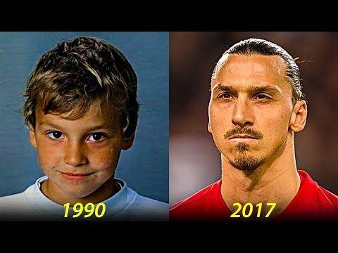 Zlatan Ibrahimovic Transformation From 2 To 35 Years Old Youtube Zlatan Ibrahimović Messi And Ronaldo Athlete