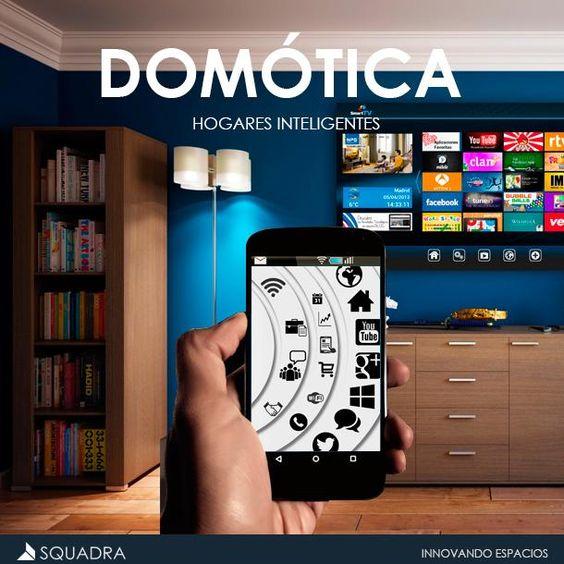 La #Domotica está siendo parte de la nueva generación de #Viviendas. #SmartHome #tecnologia