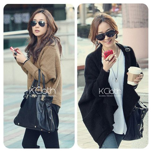 KCLOTH Sweater Long Line Knitting Wear K1333