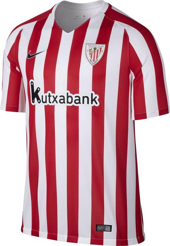 nike chaussettes trimestre xl - Athletic Club Bilbao (Spain) - 2016/2017 Nike Home Shirt ...