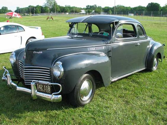 1940 Chrysler | 1940 Chrysler Royal 6Passenger Coupe Front Drivers Side View