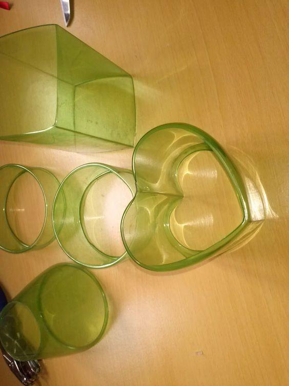 Reciclagem De Garrafa Pet Artesanato Passo A Passo ~ Artesanato Viviane Magalh u00e3es Como fazer um coraç u00e3o com garrafa Pet passo a passo Reciclar