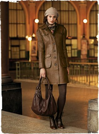 Tompkins Leather Trench
