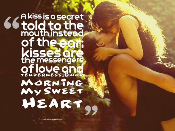 10+ Good Morning Romantic Kiss Images for Couples - Freshmorningquotes