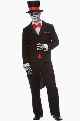 Halloween Shopaholic: Gorgeous Day of the Dead Bride and Groom Costumes