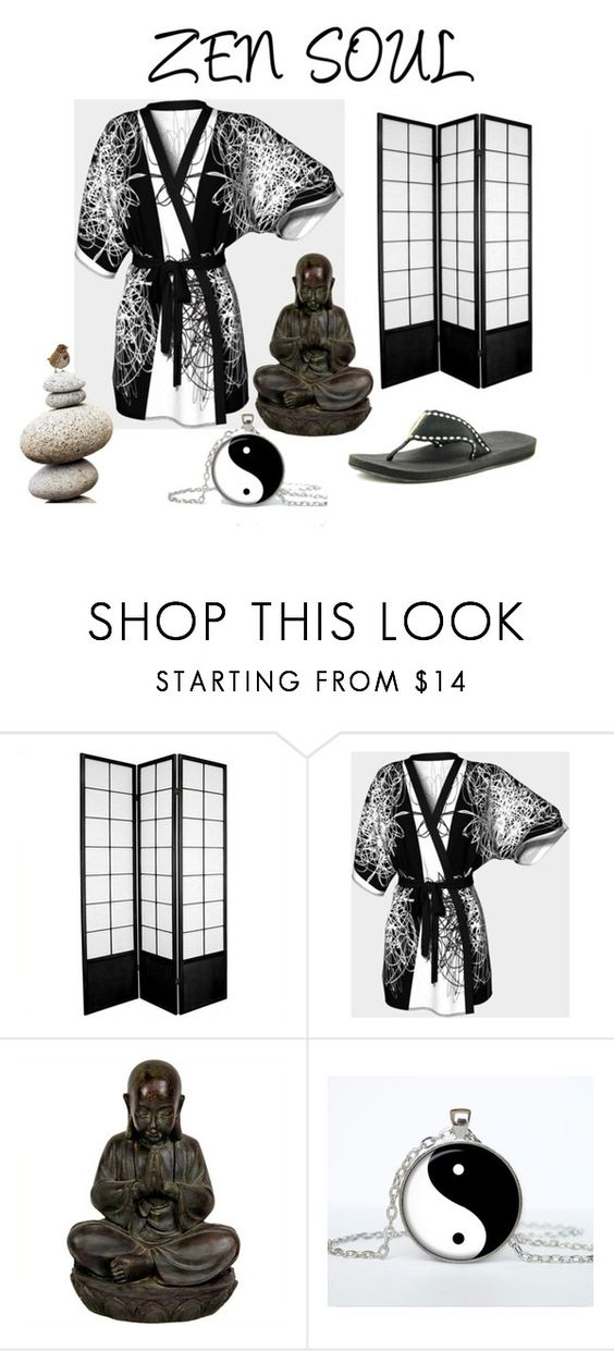 """ZEN SOUL"" by krydy ❤ liked on Polyvore featuring Reef, vintage, men's fashion and menswear"