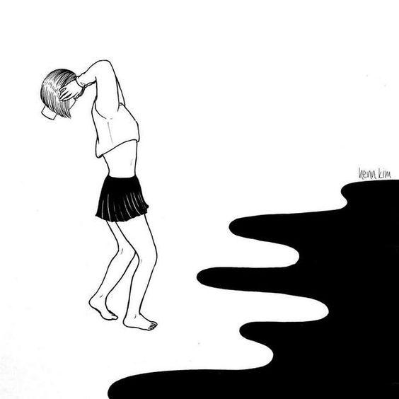 Conheça Henn Kim e suas ilustrações em P&B repletas de subjetividade - Follow the Colours: