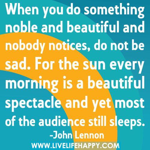 ... Wake up ... Good morning world