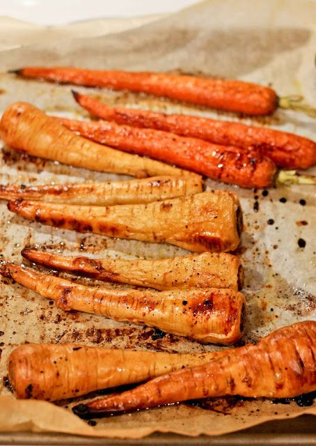 Honey Roasted Carrots and Parsnips | Roasted carrots and parsnips ...
