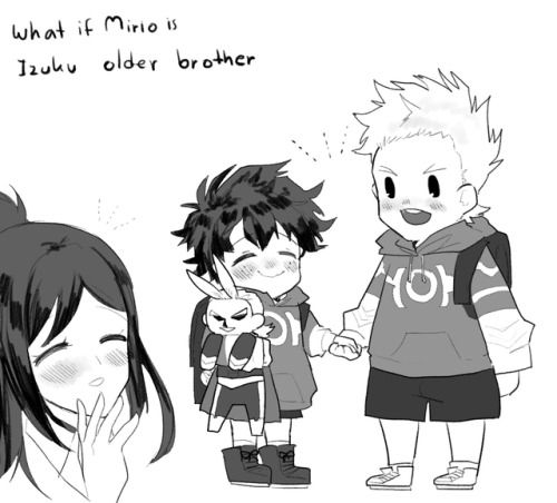 """For who request """"big brother Mirio that tries his best to"""