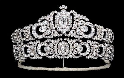 The Archduchess Maria Anna's Tiara. It was made in Vienna by Moritz Hübner in 1903