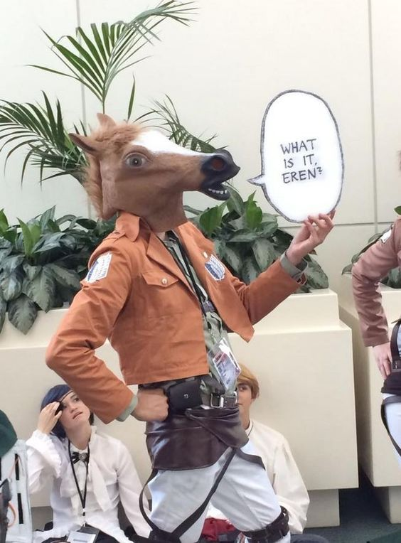 """Pinner says...the-lone-sky: """"So my friend found this flawless Jean cosplay at Anime Expo…."""""""