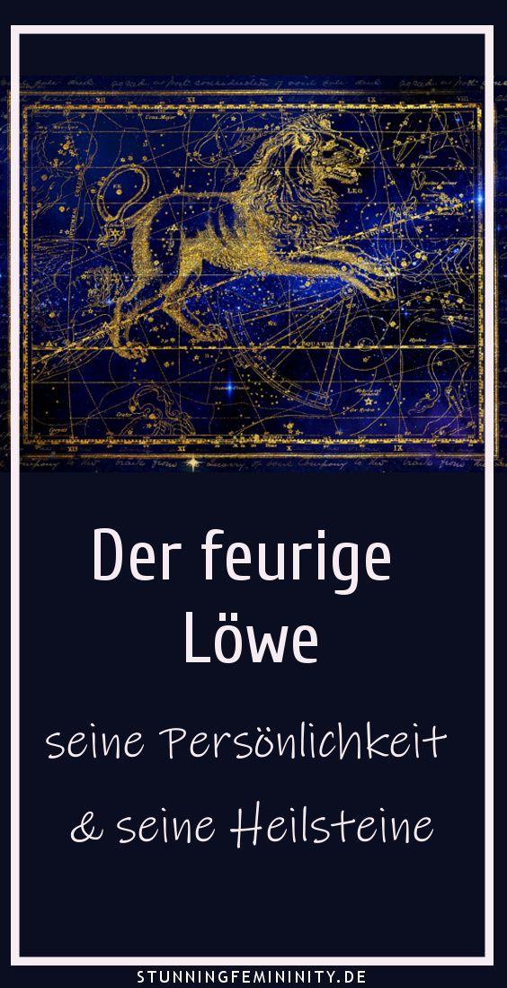 Der feurige Löwe - seine Persönlichkeit und Heilsteine ...
