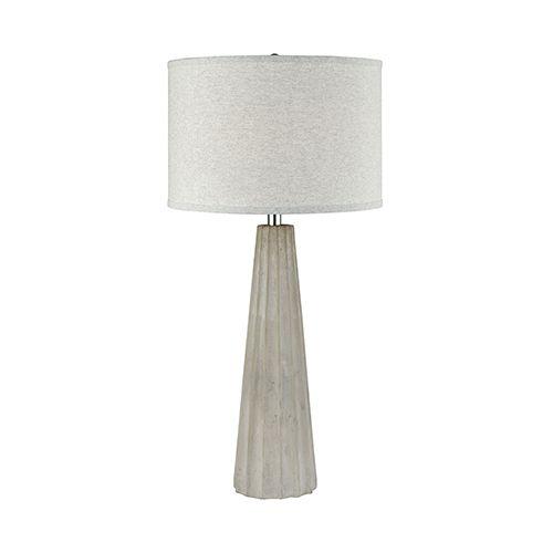 Stein World Castlestone Grey One Light Table Lamp 77027 Bellacor Lamp Light Table Table Lamp Wood