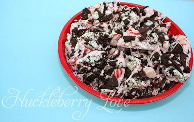 Huckleberry Love: Oreo Peppermint Bark {recipe}