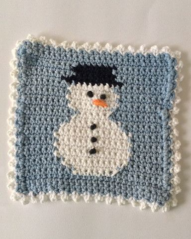 Winter Dishcloth Set Crochet Pattern Pictures of, Videos ...