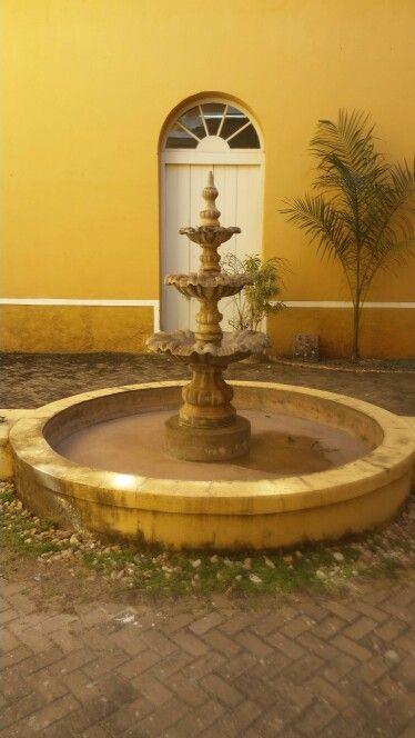 Fonte palácio da instrução Cuiabá - MT - Brasil
