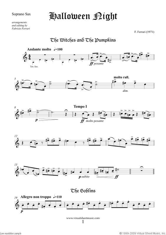 Sexy sax man sheet music images 13