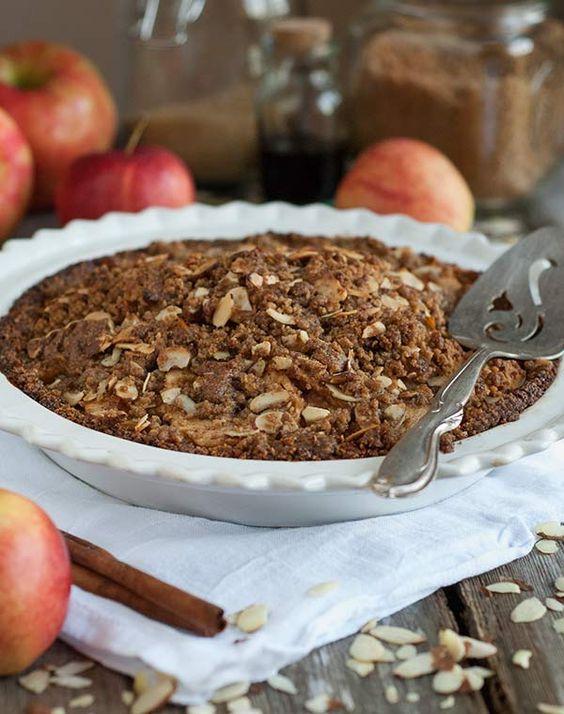 Gluten Free Apple Crumble Pie