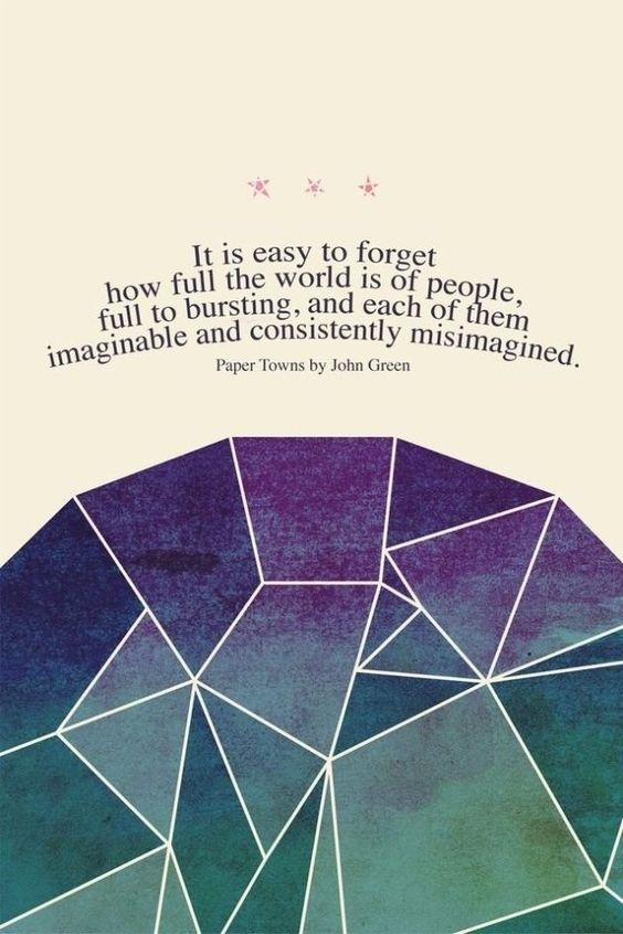 also love this quote by margo roth spiegelman and other quotes