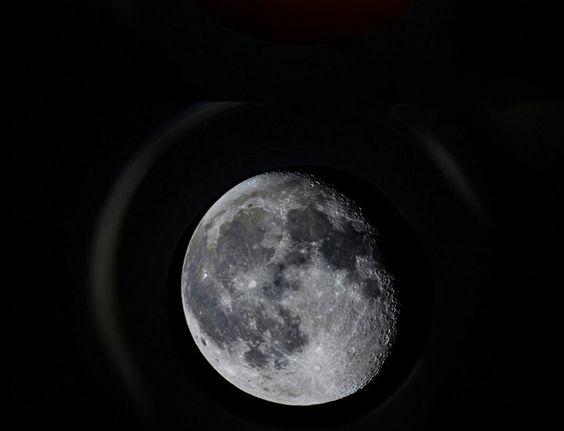 A perfeita lua que nos guia :)