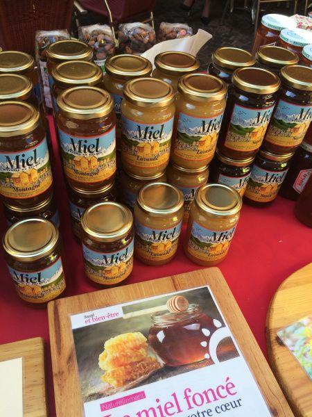 Honey, Sunday Market, Annecy, France