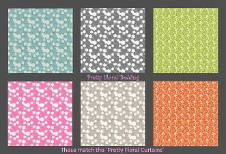 Mod The Sims - Pretty Floral Bedding  For Aleaton and Critterly.