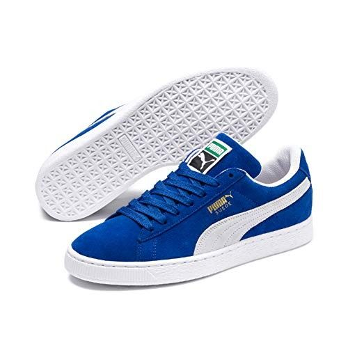 PUMA Suede Classic Sneaker,Olympian Blue/White,6.5 M US ...