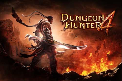 Dungeon Hunter 4 is the 3D epic quest set in a dark fantasy world, in the tradition of the most successful action Android RPG game. Players have to discover the world by defeating the forces of evil, by magic and by sword to face the destiny. Player has to choose his desired character from 3 character each one have their own power and specialties.