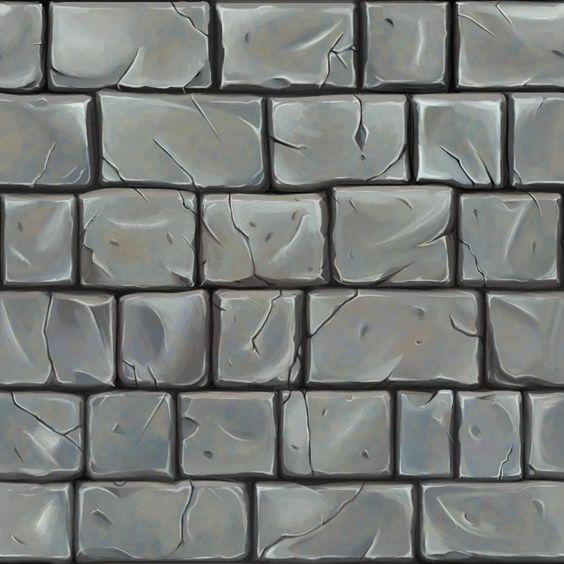 Hand Painted Brick Ref