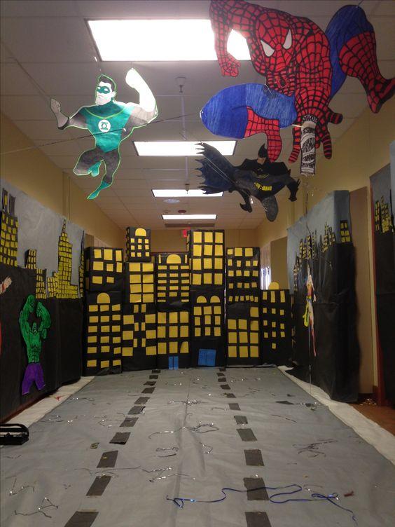 Hopi High School Homecoming 2013 Hallway Decoration