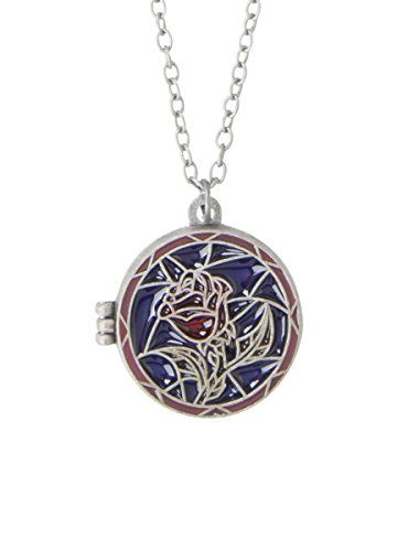 Disney Beauty And The Beast Stained Glass Rose Locket Necklace Disney http://www.amazon.com/dp/B0173GK0D0/ref=cm_sw_r_pi_dp_PToWwb07A1BEF