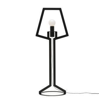 Gispen Outline Vloerlamp is een echte eye-catcher waar je altijd wel een mooi plekje voor hebt op kantoor of in de woonkamer. Door gebruik te maken van contouren in het ontwerp laat de lamp de essentie zien waar het om gaat bij een design vloerlamp.