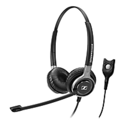 Sennheiser Century SC 660 Headset - Stereo - Black, Silver - Easy Disconnect - Wired - 200 Ohm - 50 Hz - 18 kHz - Over-the-head - Binaural - Circumaural - 3.28 ft Cable - Noise Cancelling Microphone