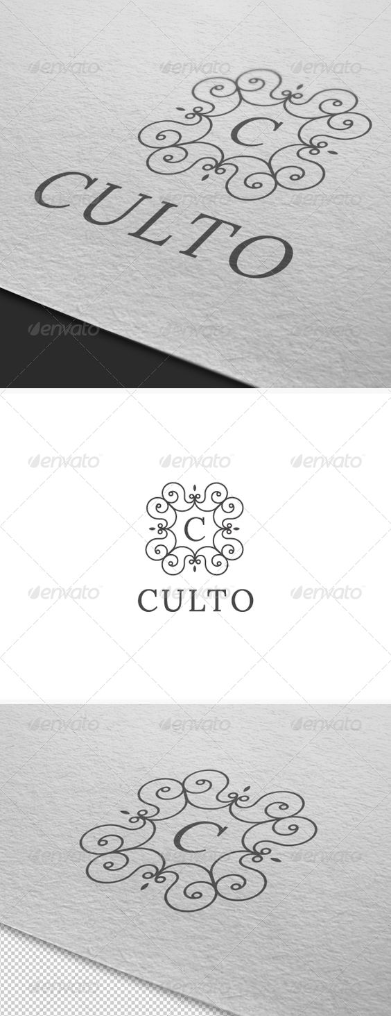 Culto Logo Template — JPG Image #logo #luxury industry • Download ➝ https://graphicriver.net/item/culto-logo-template/2813712?ref=pxcr