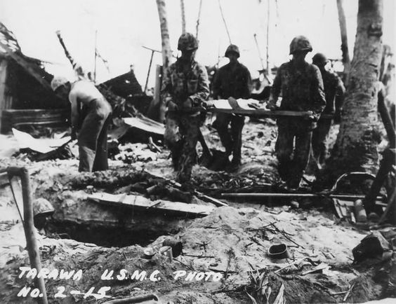 Marines Battle of Tarawa Gilbert Islands