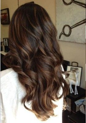 Light Brown Balayage Indian Remy Clip in Hair Extensions HSEBB ,