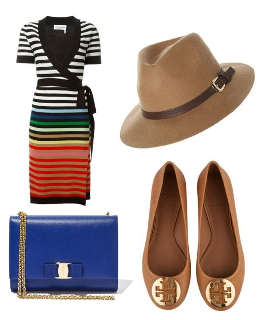 """Untitled #3477"" by ohnadine on Polyvore featuring Sonia Rykiel, Salvatore Ferragamo, Rusty, Tory Burch, women's clothing, women, female, woman, misses and juniors"