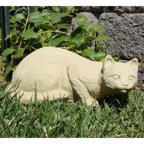 Crouching Cat Garden Statue | www.gardenstatueshop.com: