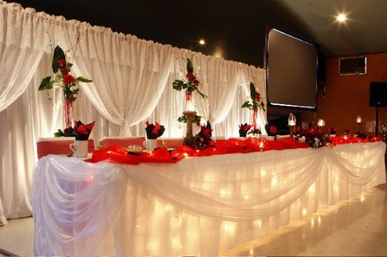 décorations salle mariage