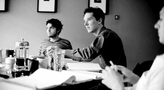 On Benedict Cumberbatch