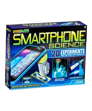 This Smartphone Science Lab Kit is perfect! #zulilyfinds