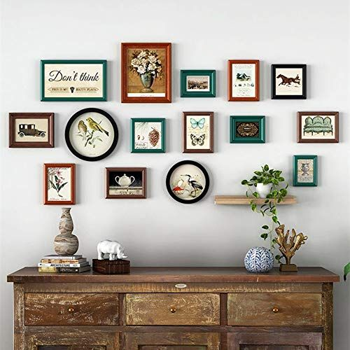 Picture Frame Gallery Frame Set Living Room Bedroom European Atmosphere One Side Frame Wall Creative Perso Wall Decor Bedroom Vintage Wall Decor Frames On Wall
