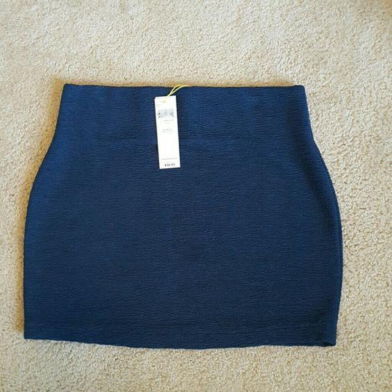 NWT Teal  Mini Skirt Adorable teal mini skirt so cute and versatile BCBGeneration Skirts Mini