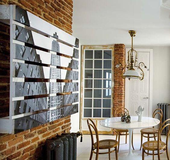 Id es co deco avec r cuperation de palettes de bois - Decorar paredes con palets ...